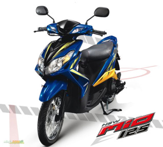 Gambar Motor Yamaha Xeon 125 cc Sporty Thailand