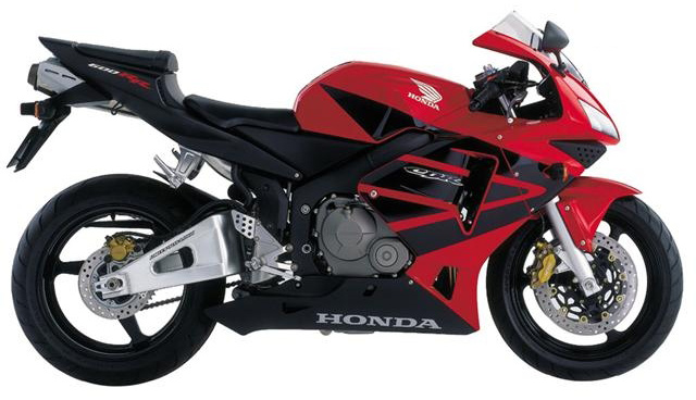 Honda Cbr 600 F4i New Motorcycles