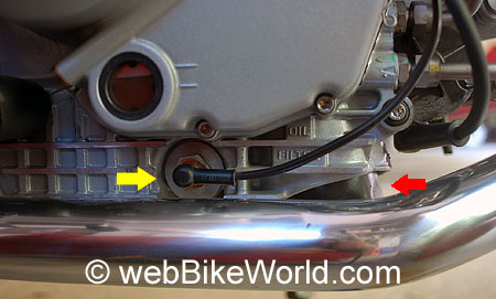 Ducati Oil Filter Crush Washer