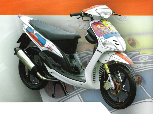 Top gambar modifikasi mio sporty 2010